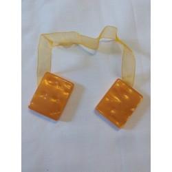 Mágneses függönykikötő narancs