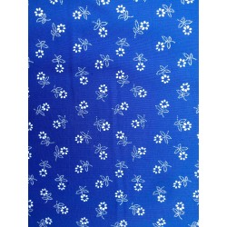 Pamutvászon kékfestő
