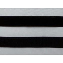 Tépőzár fekete 2 cm