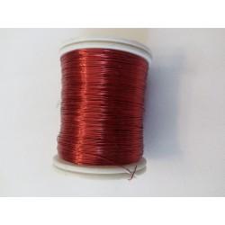 Gyöngyfűző drót piros 50 m