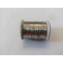 Gyöngyfűző drót ezüst