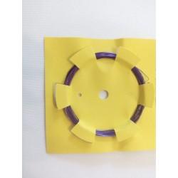 Gyöngyfűző drót lila