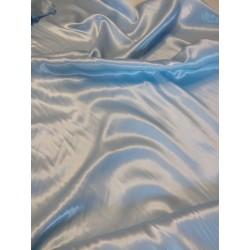 Karnevál szatén világos kék