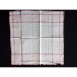 Női zsebkendő rózsaszín-bordó