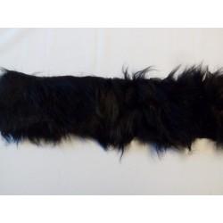 Manószőr fekete 10 cm széles