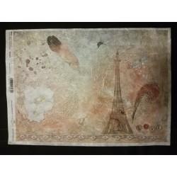 Rizspapír tollas Párizs